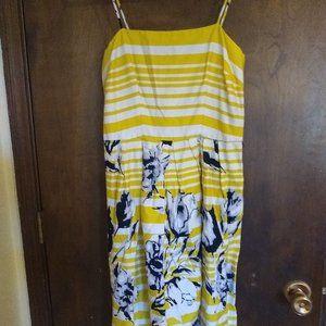 Yellow Spring Short Sun Dress